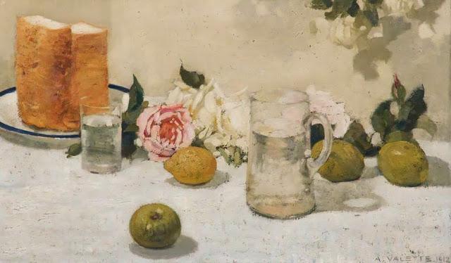 1912+Still+Life,+Fruit+oil+on+canvas+44+x+75+cm+Stockport+Heritage+Services+UK