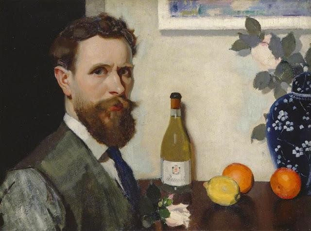 1917c+Self+Portrait+oil+on+linen+45+x+60.4+cm+Manchester+City+Galleries+UK