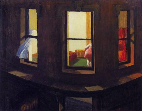 Night windows, 1928