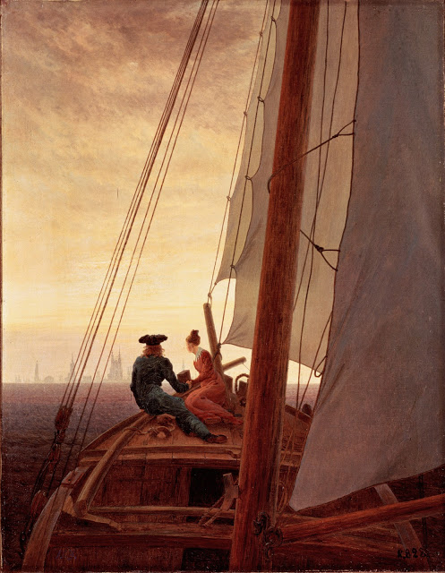 1818-20, On a Sailing Boat