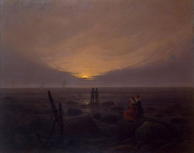 1819, Moonrise by the Sea