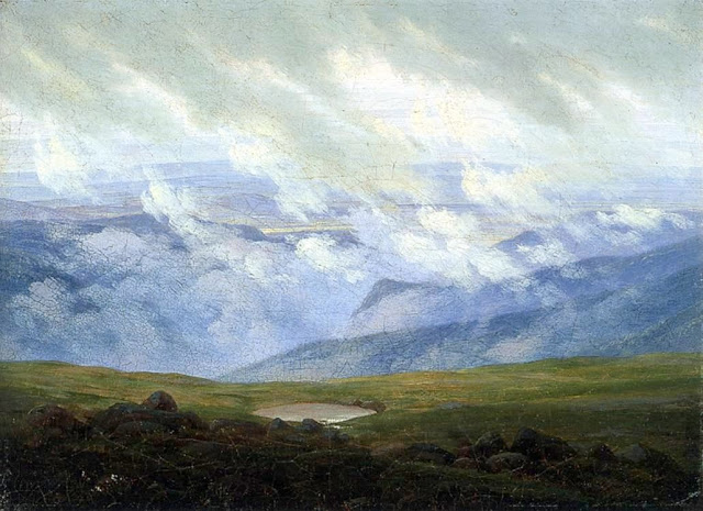 1820, Drifting Clouds