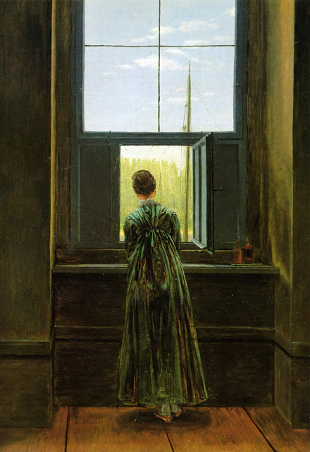 1822, Woman at the Window