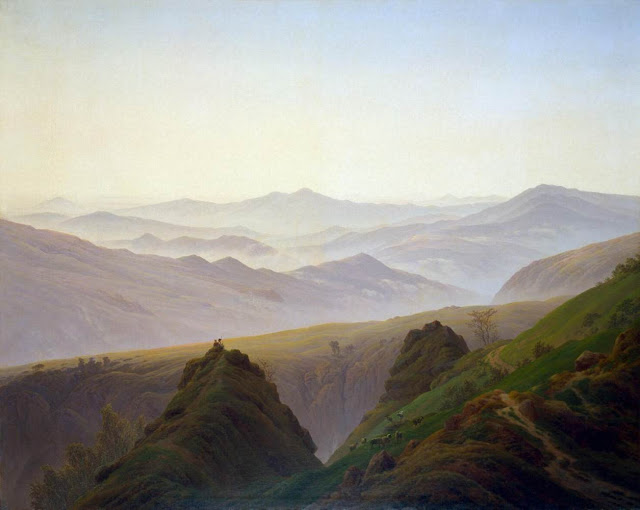 1822-23, Morning in the Mountains