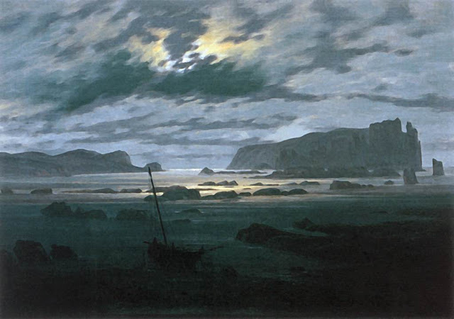 1823-24, The North Sea in Moonlight