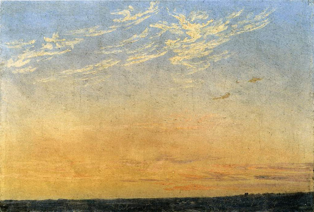 1824, Evening with Clouds
