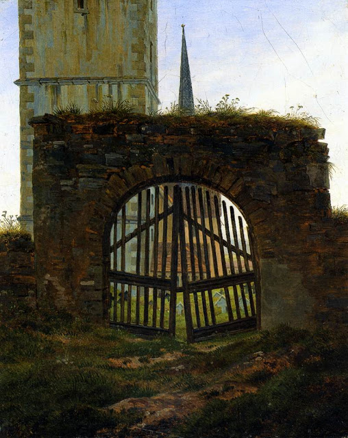 1825-30, The Cemetery Gate