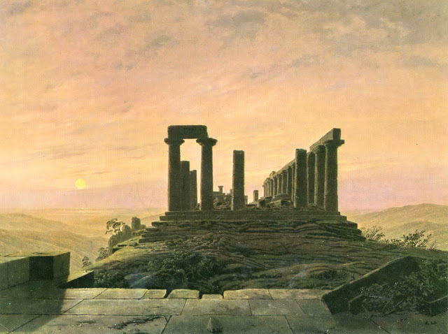 c. 1828-30, The Temple of Juno in Agrigento