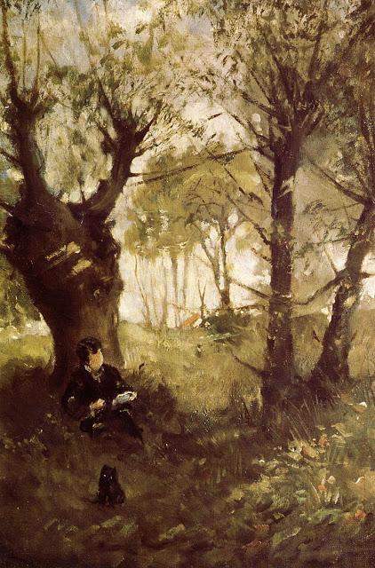 Stara aleja nad Auvers, 1863