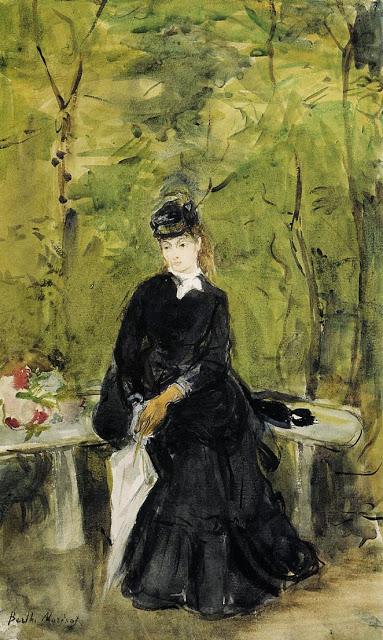 Siostra artystki, 1864