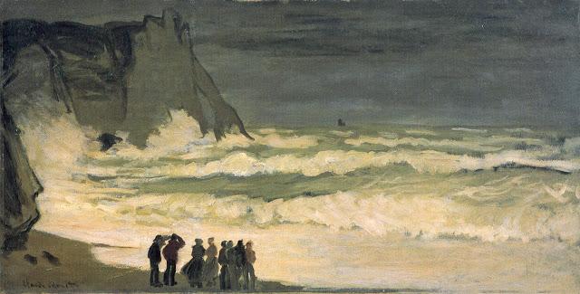 Stormy Sea, 1868