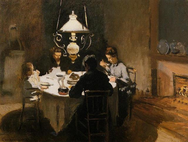 The Dinner, 1869