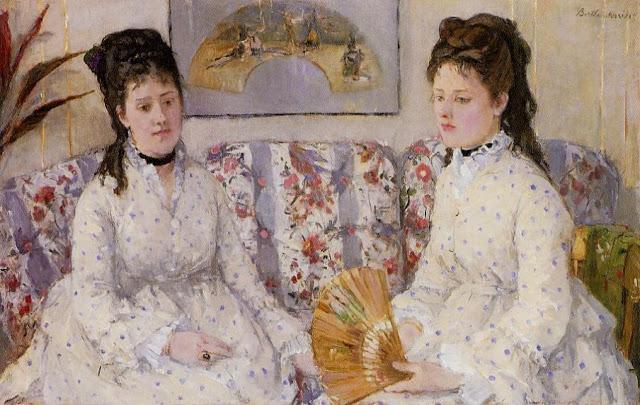 Dwie siostry na tapczanie, 1869