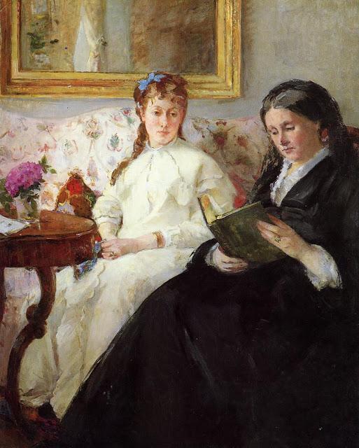 Matka z córką, 1869-70