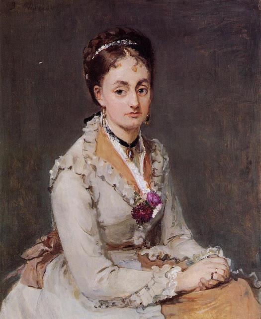 Portret Edmy, 1870