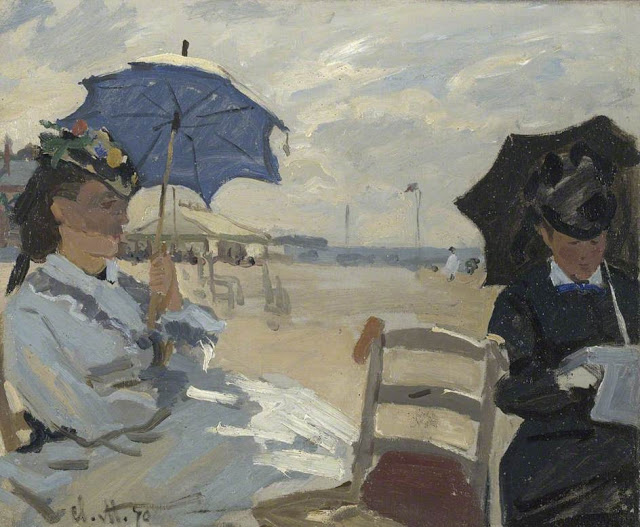 The Beach at Trouville, 1870