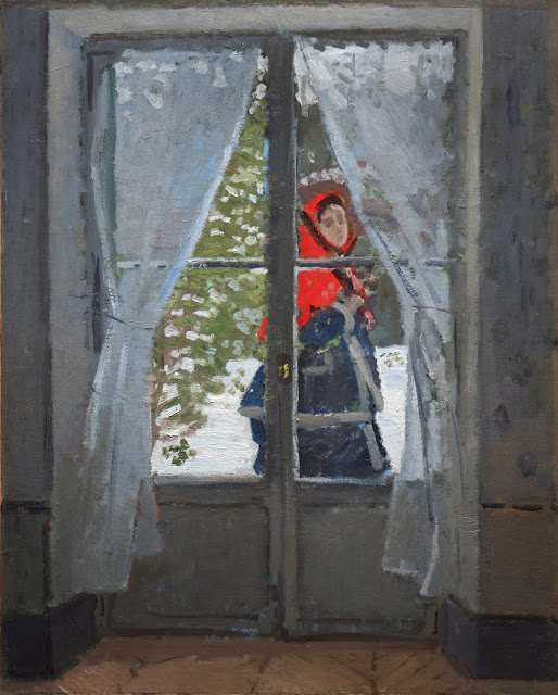 The Red Cape Madame Monet, ok. 1870