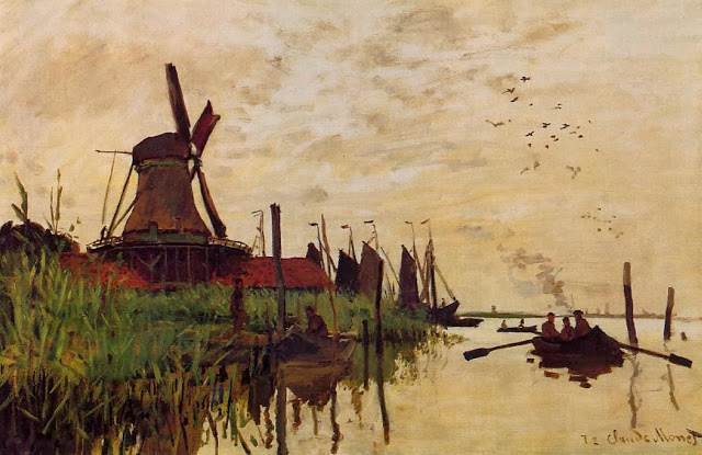Windmill at Zaandam, 1871
