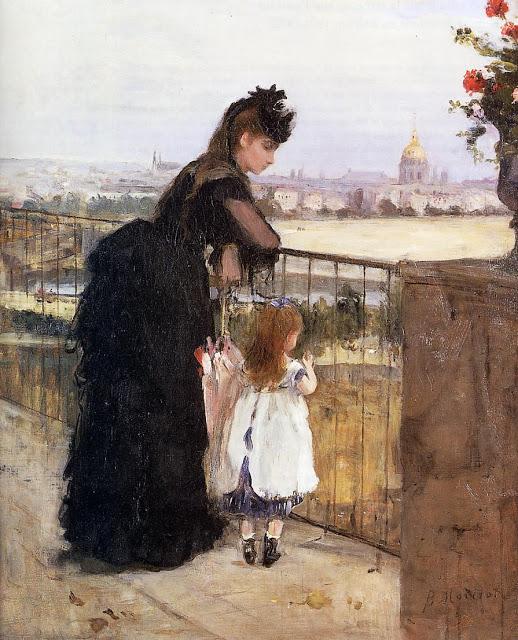 Kobiety na balkonie, 1871-72