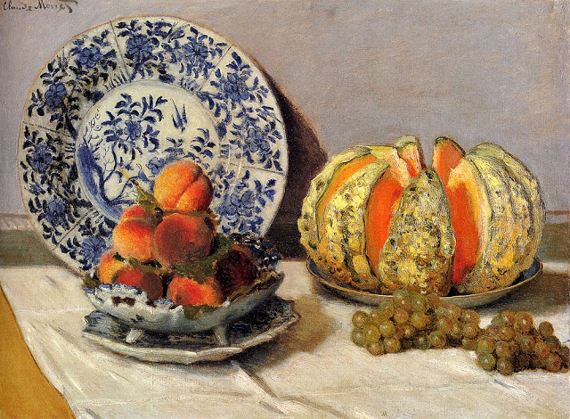 Still Life with Melon, 1872