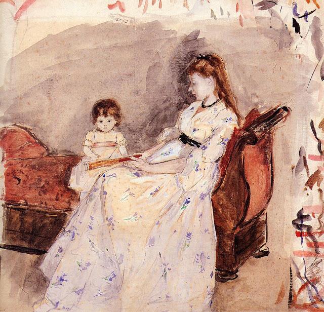 siostra artystki, 1872