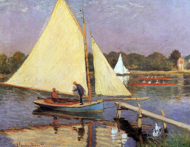 Boaters at Argenteuil, 1874