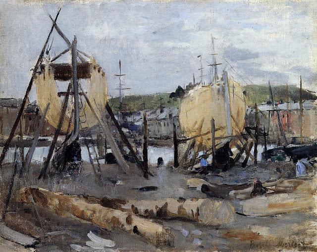 Statki w budowie, 1874