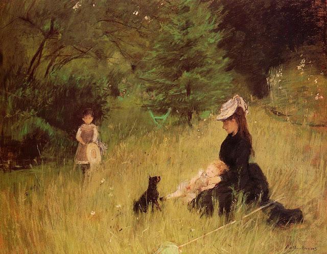 Na trawniku, 1874