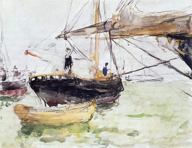 Na pokładzie jachtu, 1875