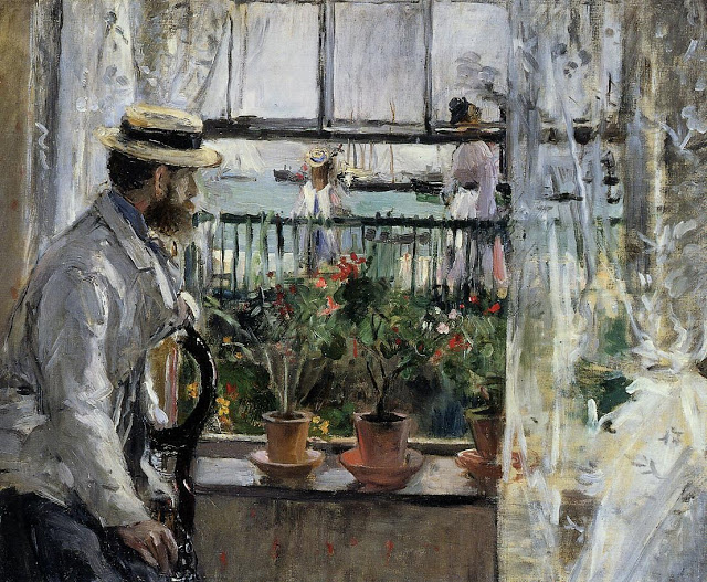 Eugène Manet, 1875