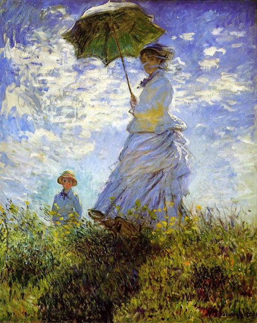 Madame Monet and Her Son, 1875