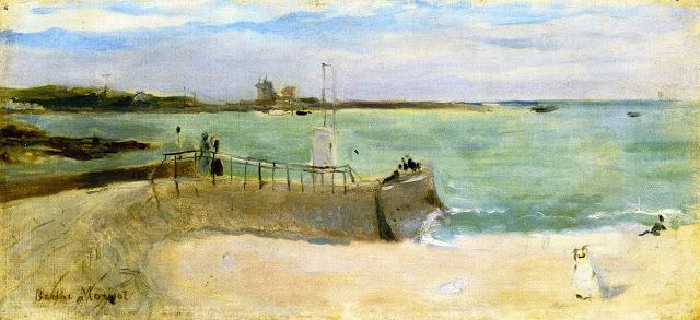 Na plaży, 1875