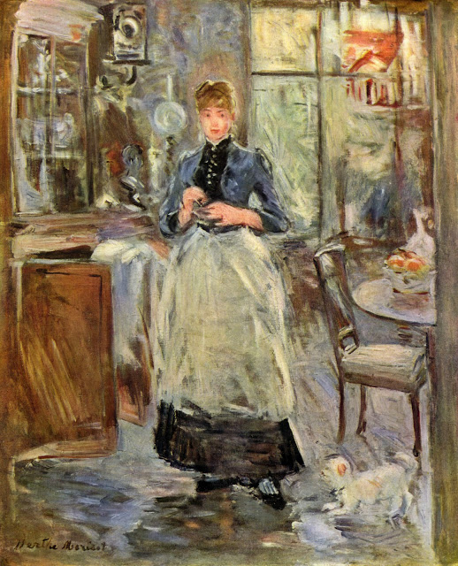 W jadalni, 1875