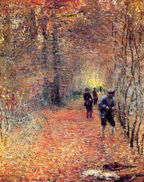 Hunting, 1876