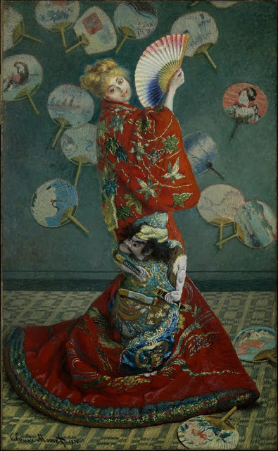 La Japonaise Camille Monet in Japanese Costume, 1876