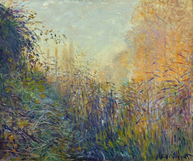 Study of Rushes at Argenteuil, 1876