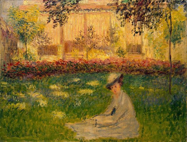 Woman in a Garden, 1876