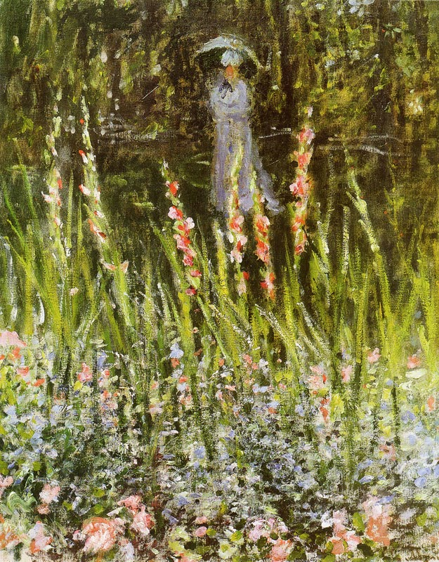 Camille Monet in the Garden Argenteuil, ok. 1877