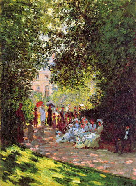 The Park Monceau, 1878