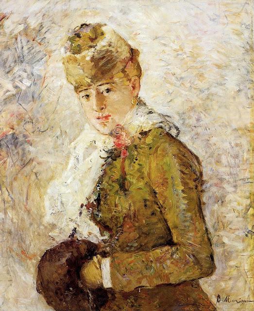 Kobiet z grzałką do rąk, :)1880