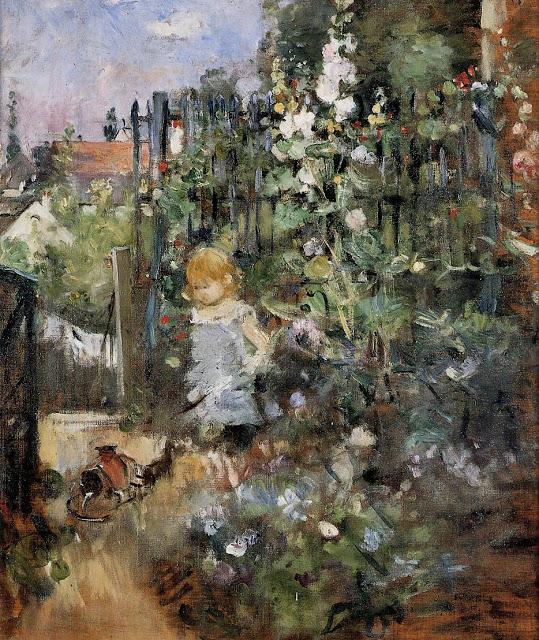 Dziecko z różami, 1881