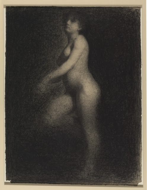 Georges Seurat Nude woman, 1881-82