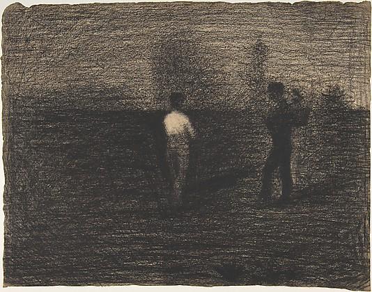 Georges Seurat Peasants, ok. 1881-84