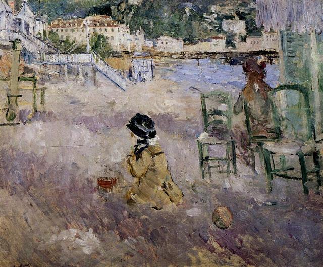 Plaża w Nicei, 1882