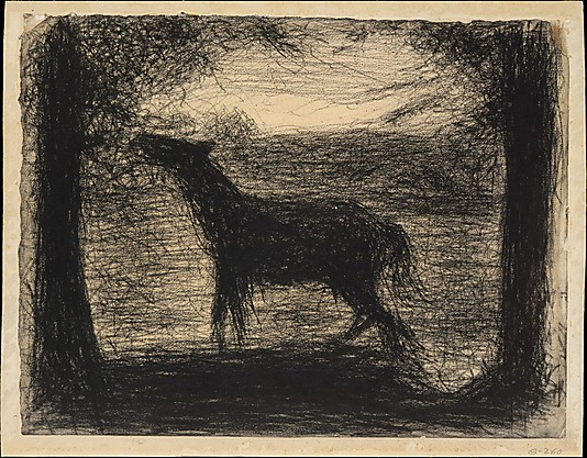 Georges Seurat Foal, 1882-83