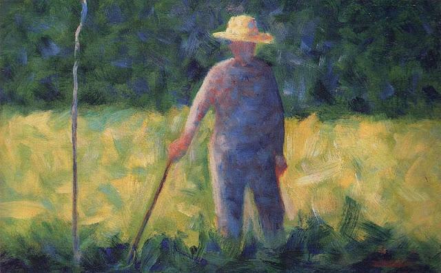 Georges Seurat The Gardener, ok. 1882