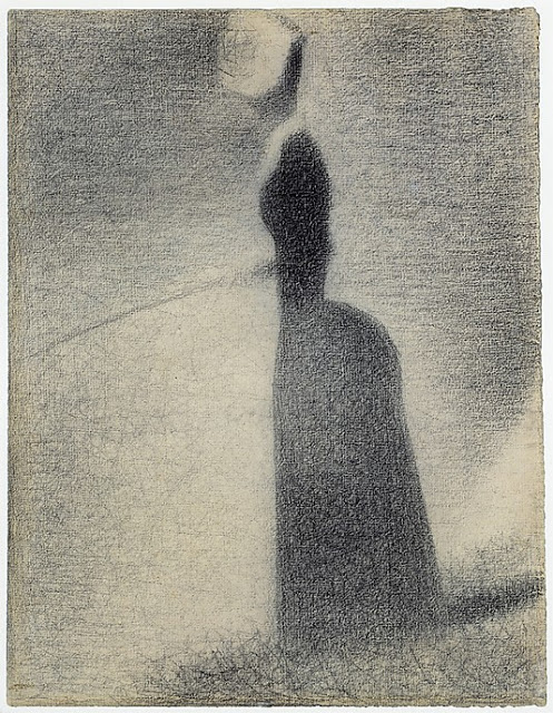 Georges Seurat A Woman Fishing, 1884