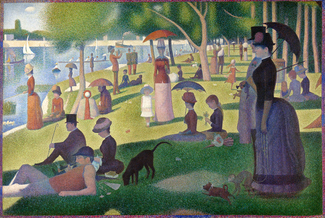 Georges Seurat Sunday afternoon on the island of la Grande Jatte, 1884-86
