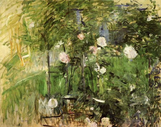Róg ogrodu różanego, 1885