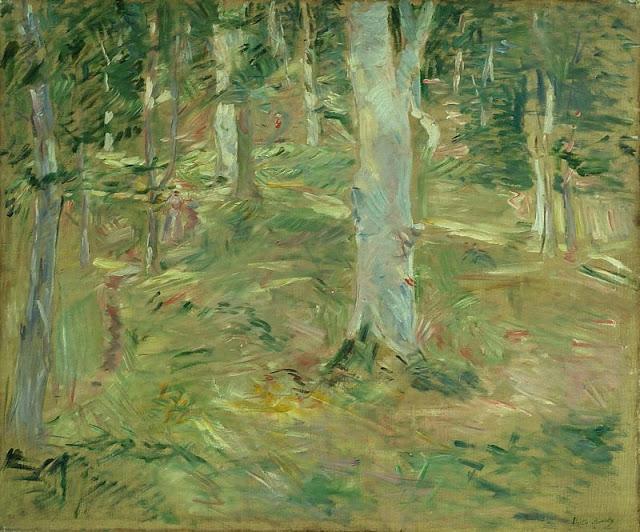 Forêt de Compiègne, 1885